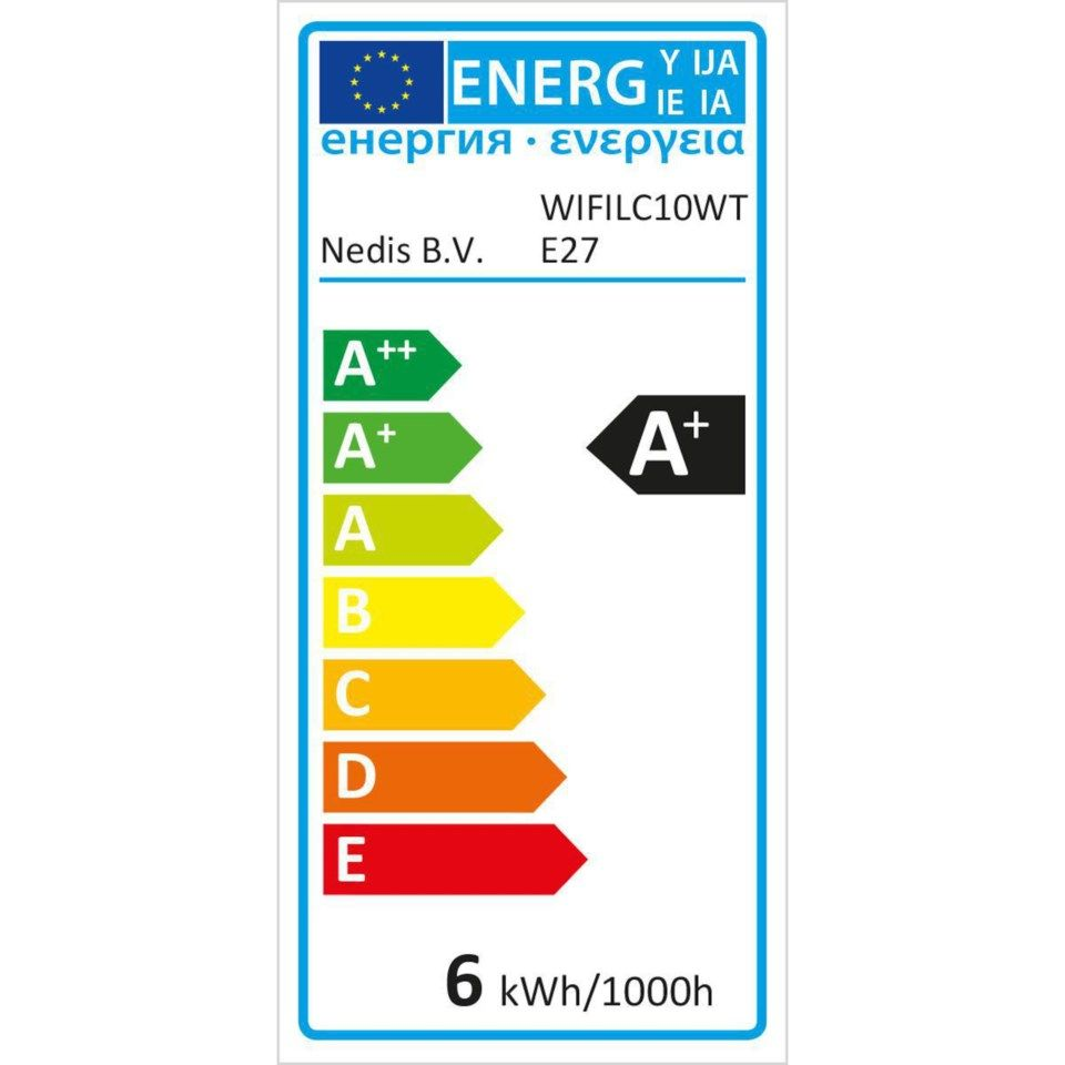 Nedis Smartlife Smart LED-pære E27 RGBWW