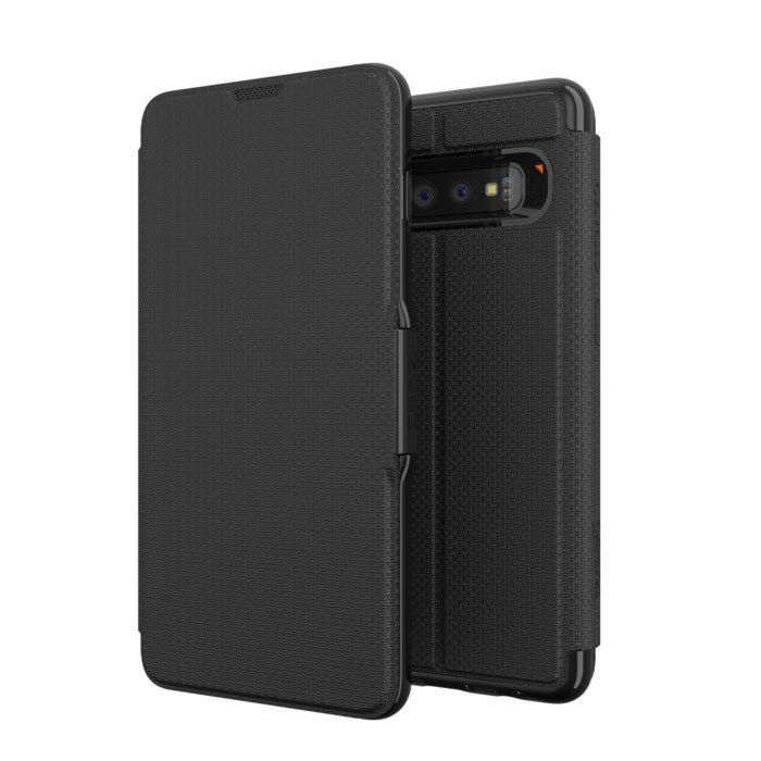 Gear4 Oxford Tålig mobilplånbok för Galaxy S10 Plus
