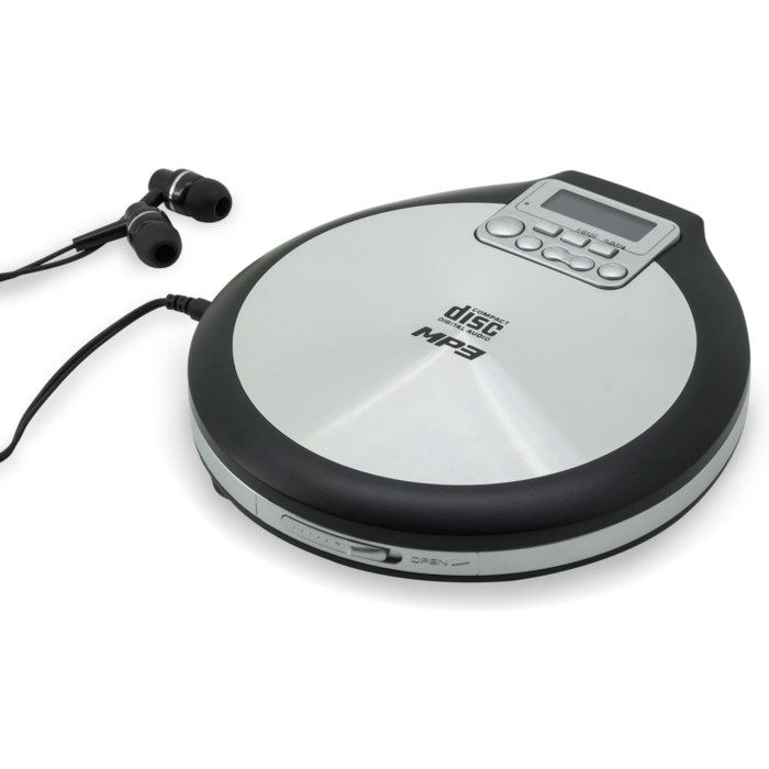 Soundmaster CD9220 CD-spelare med resume-funktion