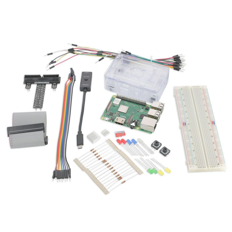 Raspberry Pi 3 Model B+ Ultimate Kit Ettkortsdatamaskin