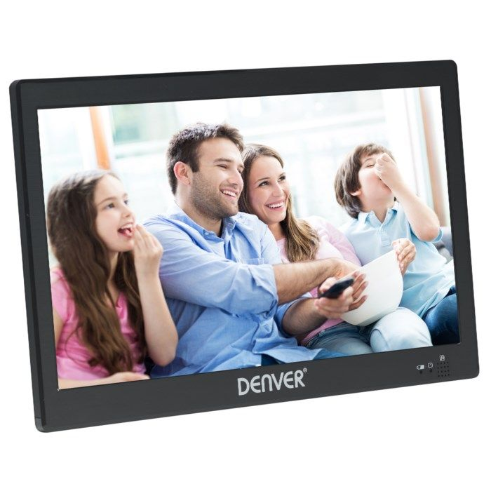 """Denver Portabel TV 10"""" med Digital-TV-mottagare"""