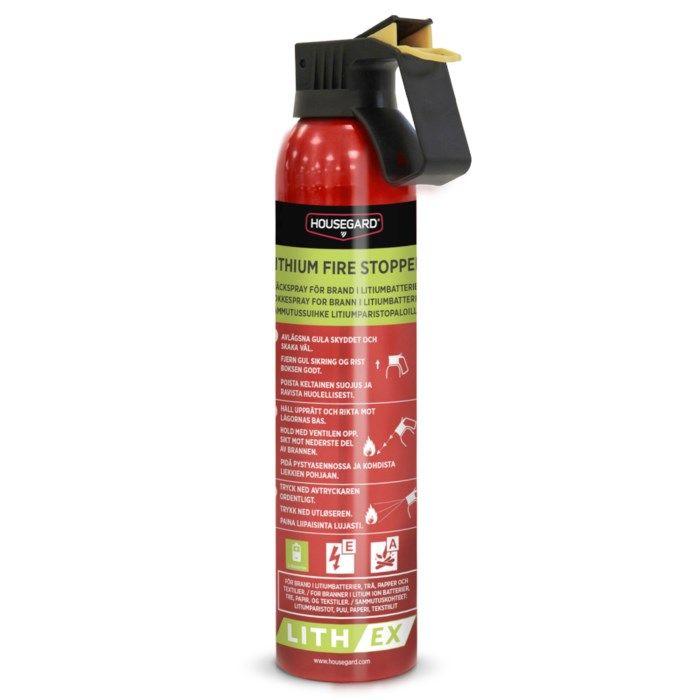 Housegard Lith-EX Släckspray För Litiumbatterier