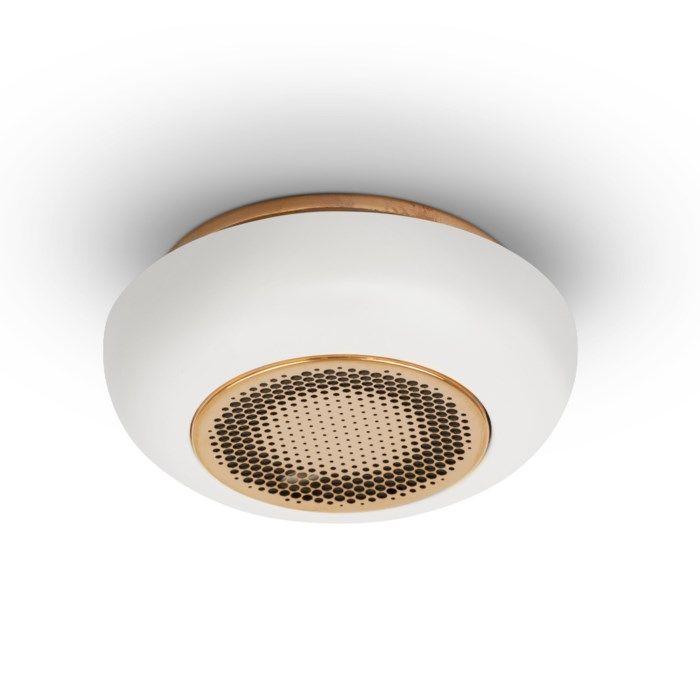 Housegard Firephant Optisk brandvarnare Koppar/Vit