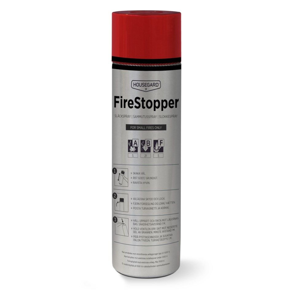 Housegard Firestopper Slokkespray 600 ml