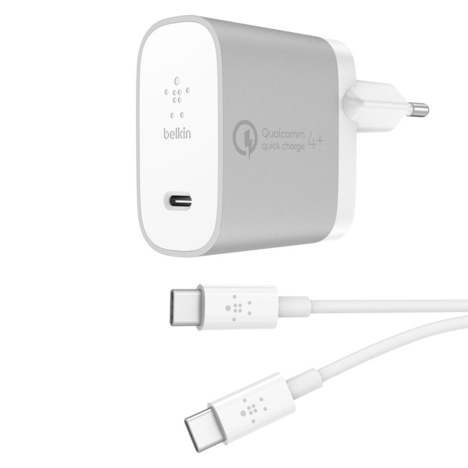 Belkin 27 W USB-C-lader Quick Charge 4+