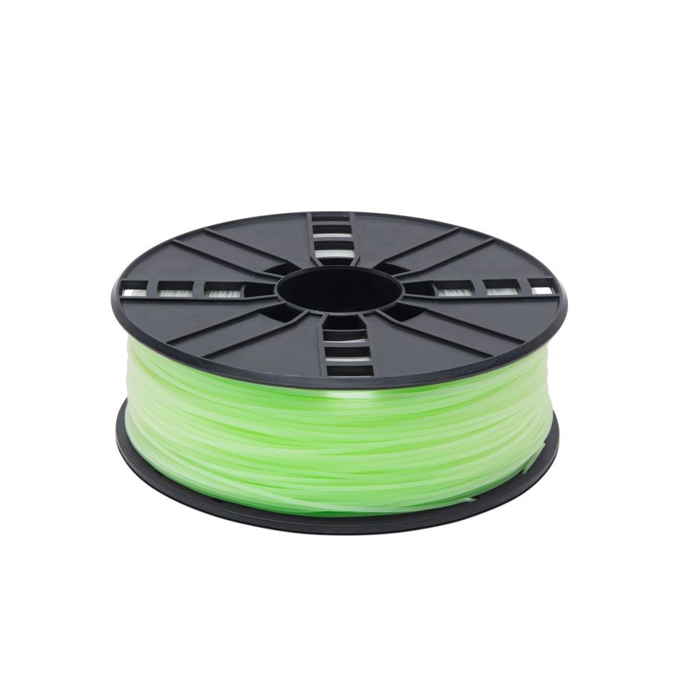 Luxorparts PLA-filament för 3D-skrivare 1,75 mm Glow In The Dark Grön