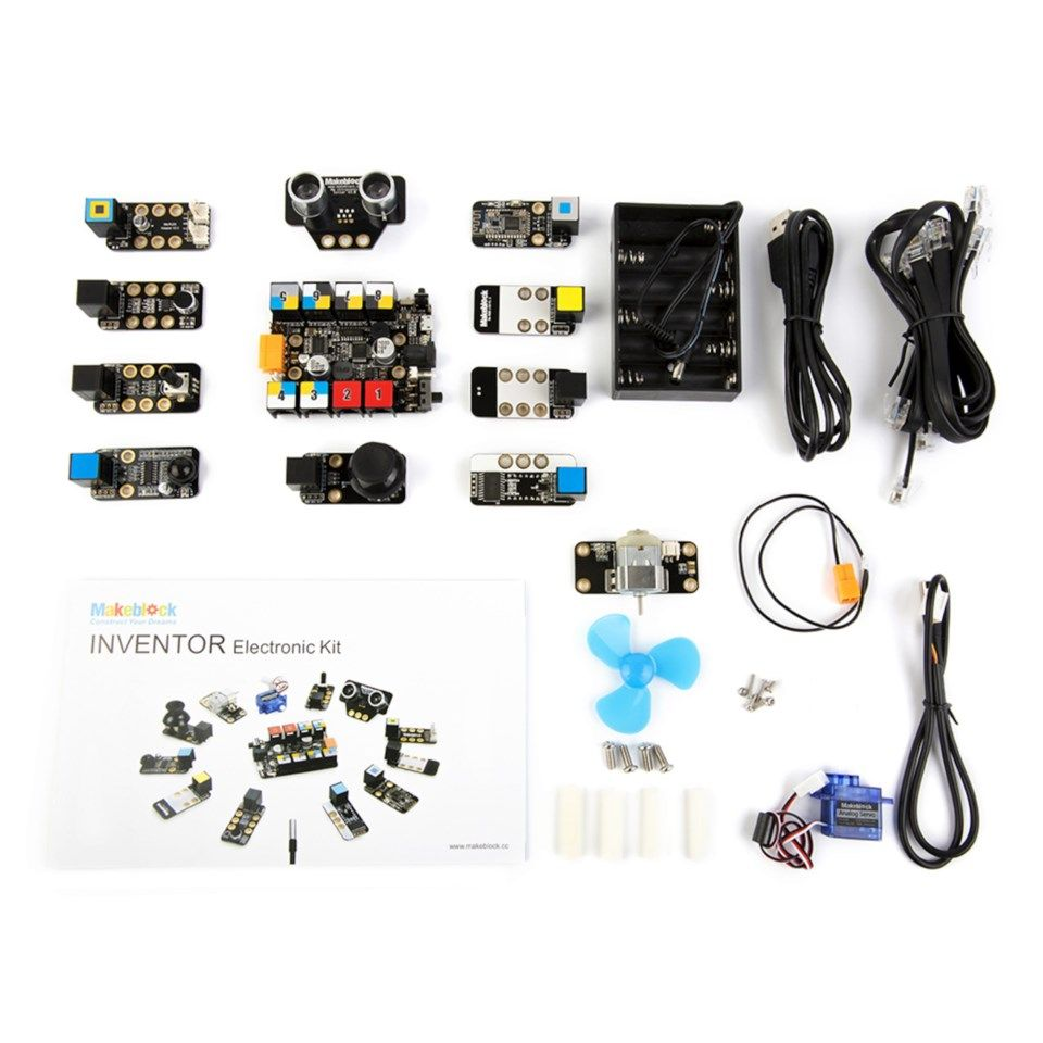 Makeblock Inventor Electronic Kit Byggesett
