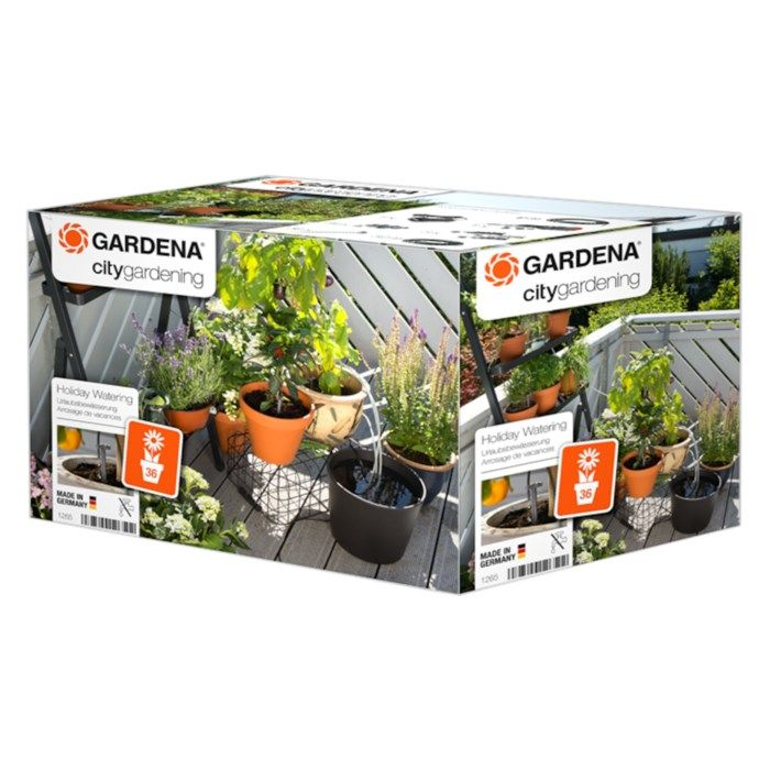 Gardena City Gardening Semesterbevattning inom- och utomhus