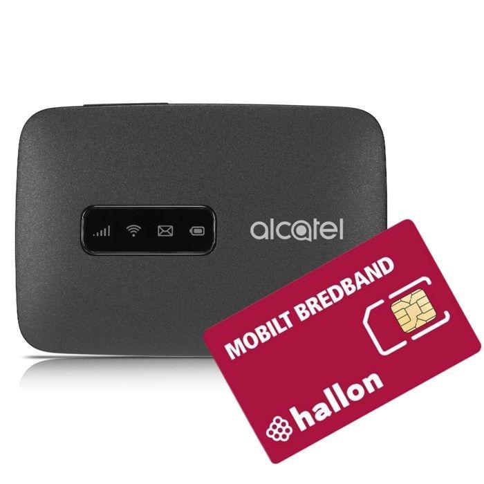 Alcatel Link Zone med Hallon 20 GB startpaket