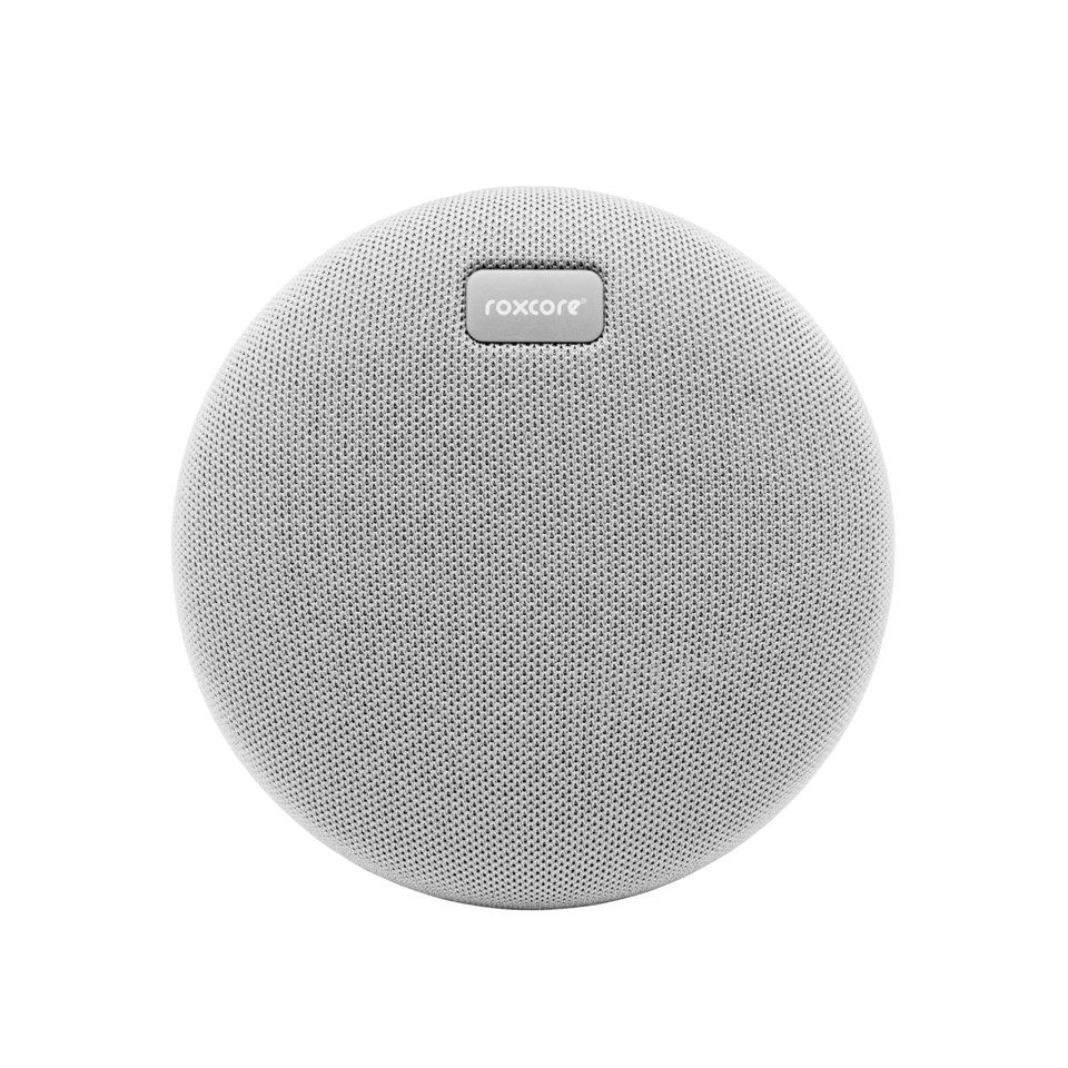 Roxcore Beach Mini Portabel Bluetooth-høyttaler Grå