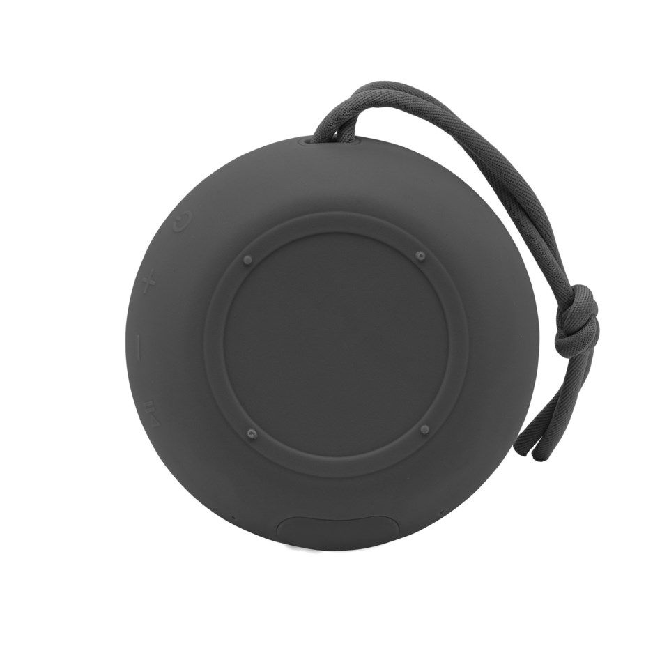 Roxcore Beach Mini Portabel Bluetooth-høyttaler Svart