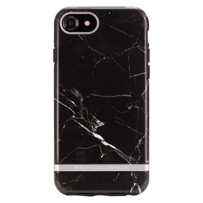 Richmond & Finch Freedom Case Mobilskal för iPhone 6, 7, 8 och SE Black Marble