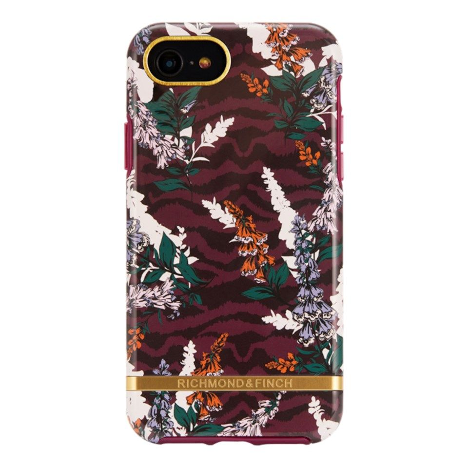 Richmond & Finch Freedom Case Mobilskal för iPhone 6, 7, 8 och SE Floral Zebra