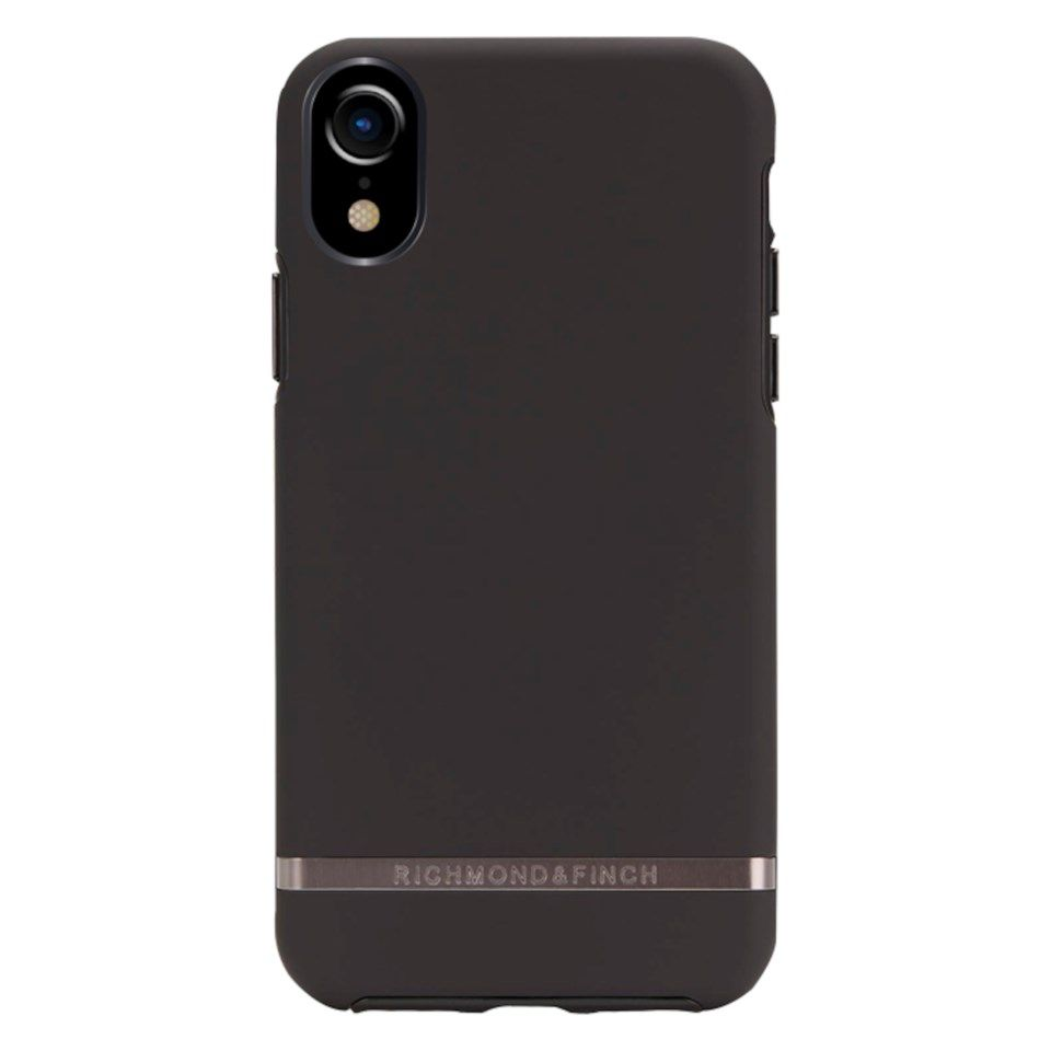 Richmond & Finch Freedom Case Mobildeksel for iPhone Xr Black Out