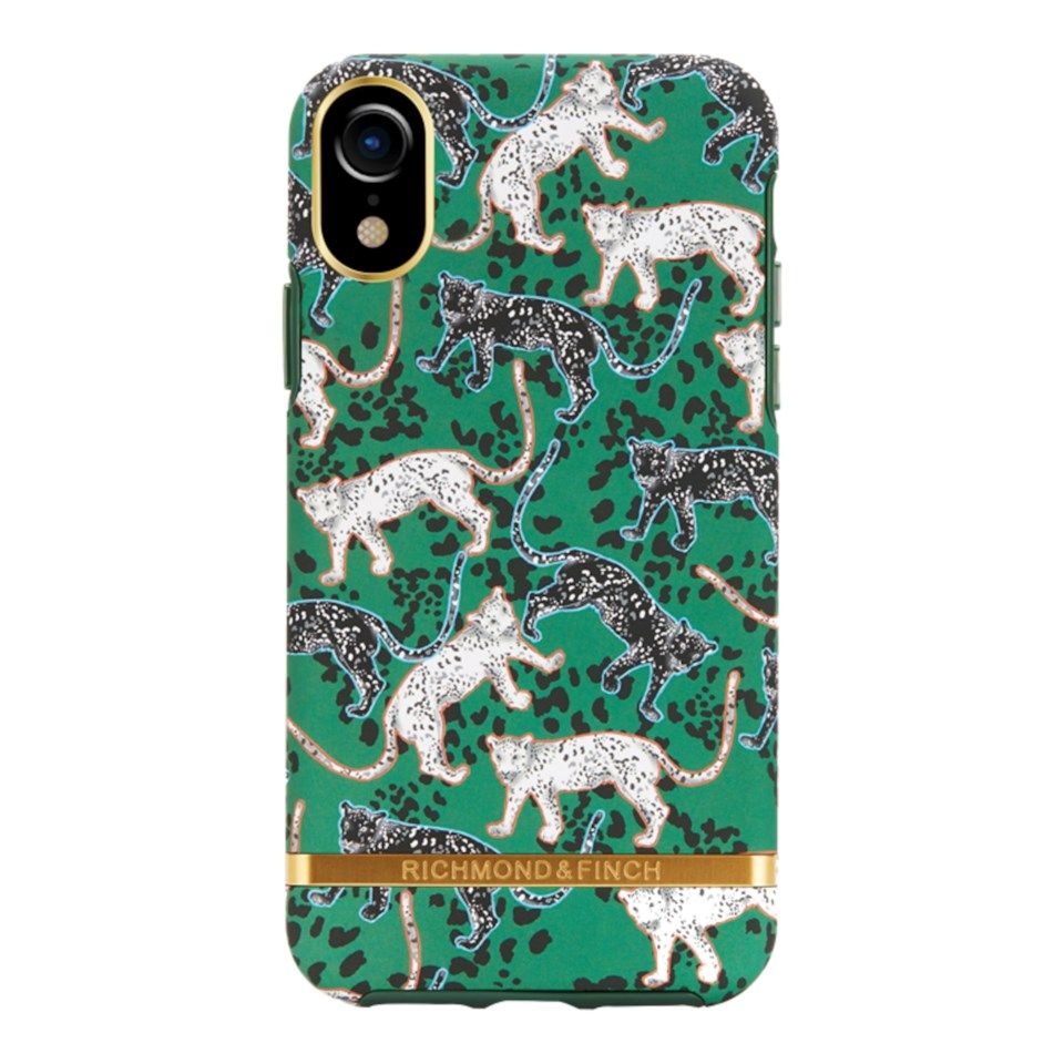 Richmond & Finch Freedom Case Mobildeksel for iPhone Xr Green Leopard