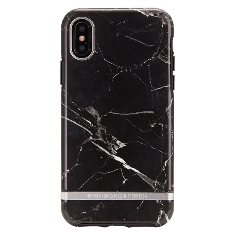 Richmond & Finch Freedom Case Mobilskal för iPhone Xs Max Black Marble