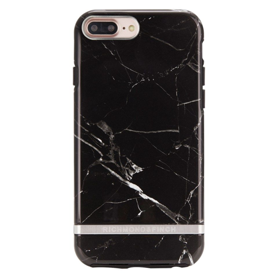 Richmond & Finch Freedom Case Mobildeksel for iPhone 6, 7 og 8 Plus Black Marble