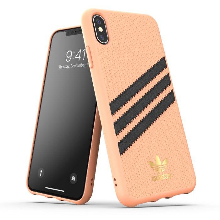 Adidas Mobilskal för iPhone Xs Max Samba Peach