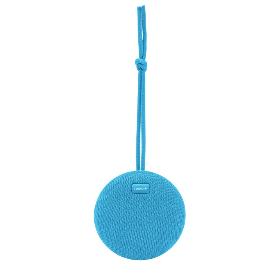 Roxcore Beach Mini Portabel Bluetooth-høyttaler Blå