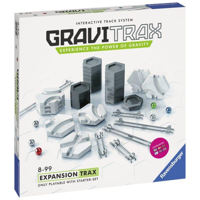 GraviTrax Trax Expansionspaket till kulbanesystem