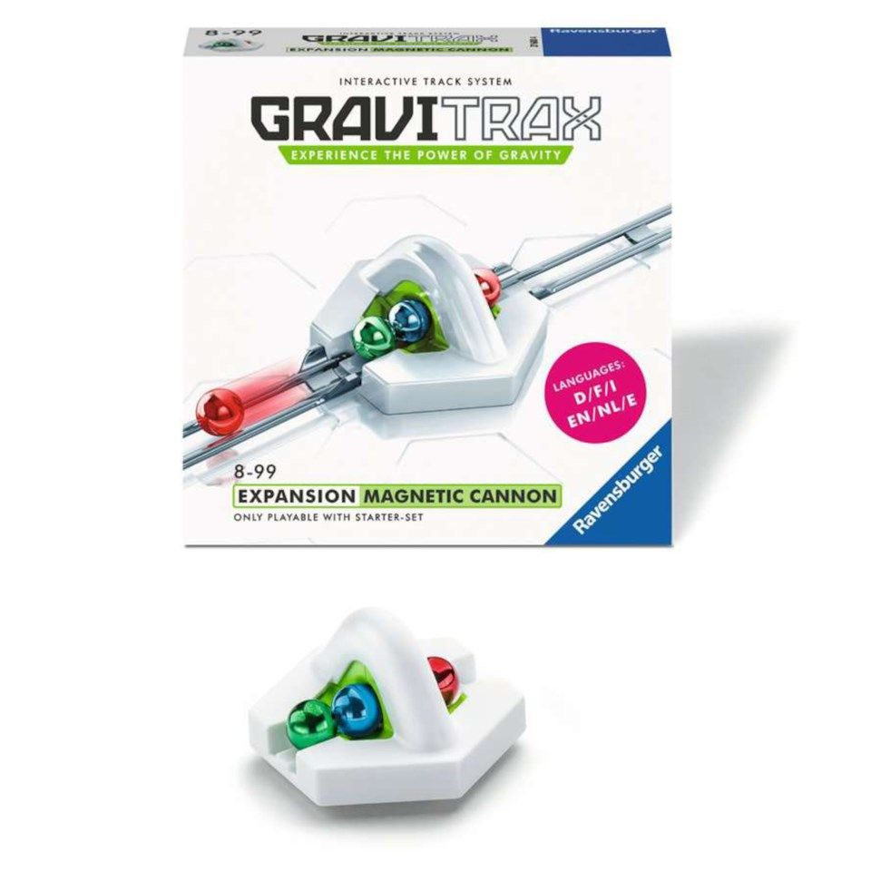 GraviTrax Magnetic Cannon modul till kulbanesystem