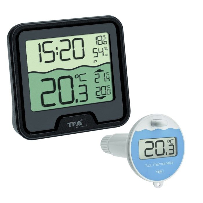 TFA Marbella Trådlös pooltermometer