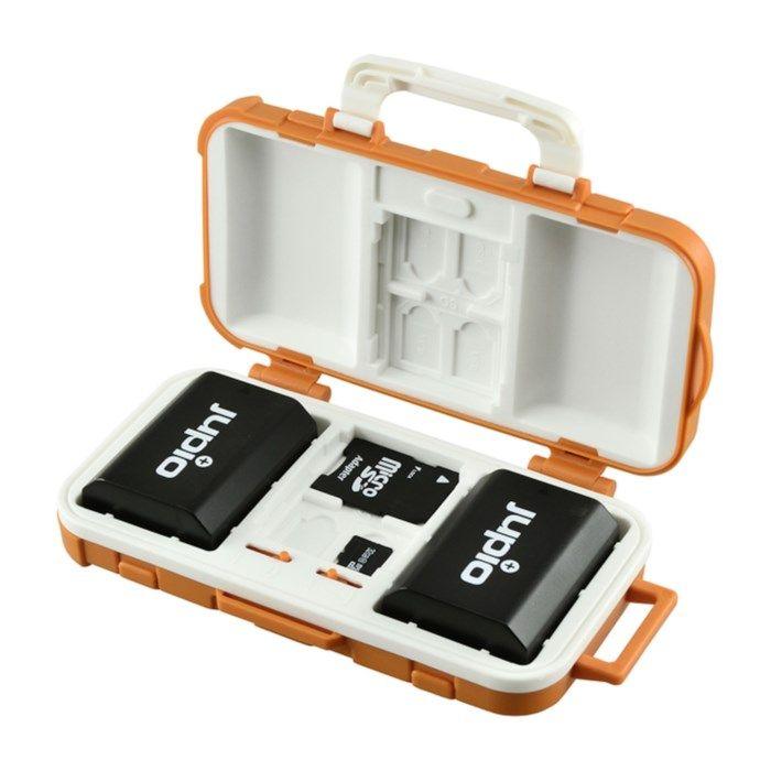 Jupio Förvaringslåda för batterier och minneskort