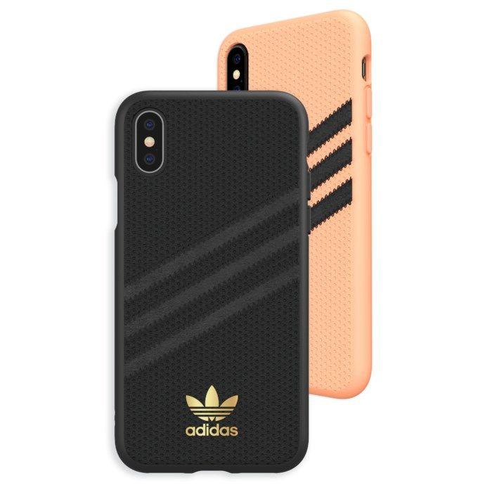 Adidas Mobilskal för iPhone X och Xs Samba Peach