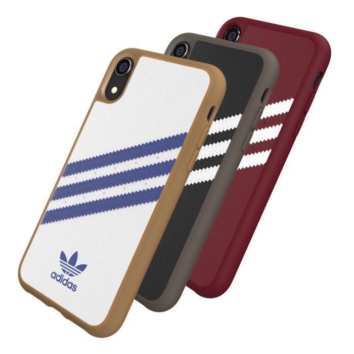Adidas Mobilskal för iPhone Xr Samba Svart/Vit
