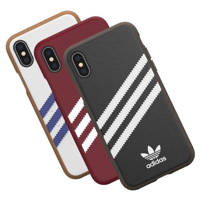 Adidas Mobilskal för iPhone X och Xs Gazelle Burgundy