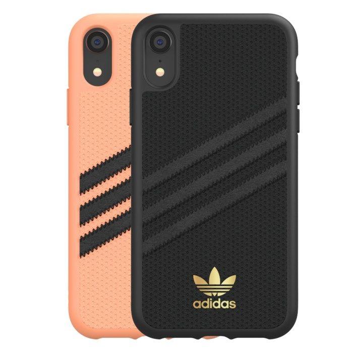 Adidas Mobilskal för iPhone Xr Samba Peach