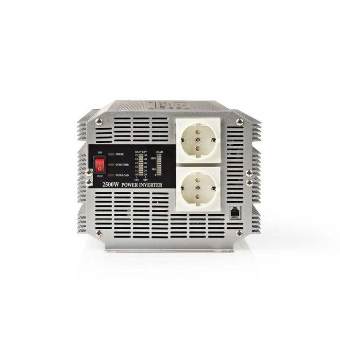Nedis Växelriktare med modifierad sinusvåg 2500 W