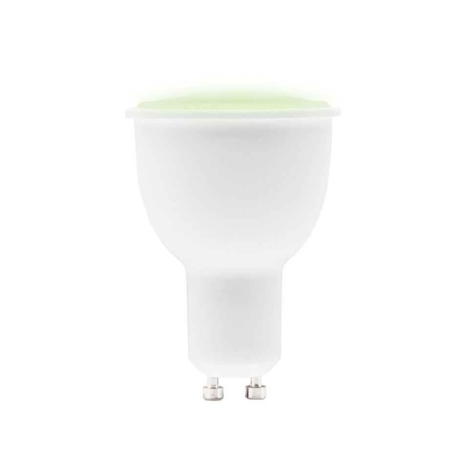 Cleverio Smart GU10 RGB LED-lampa 370 lm