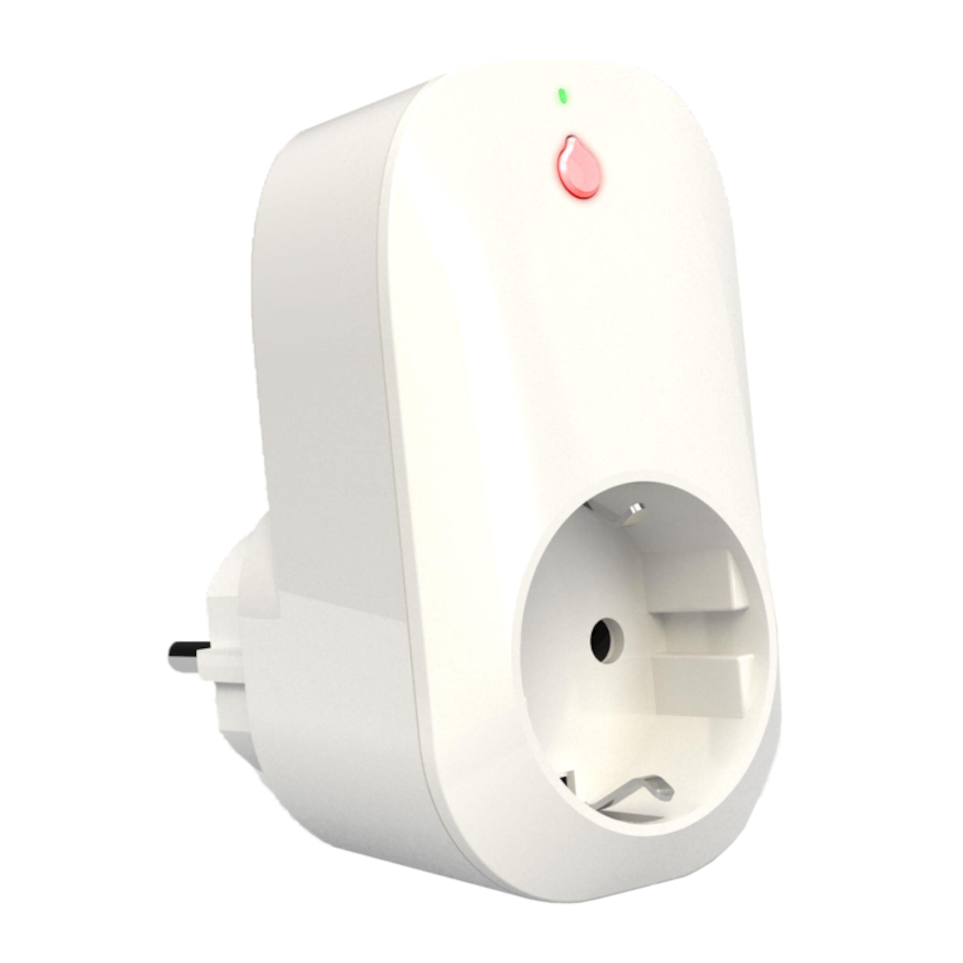 Shelly Plug Wi Fi Fjärrströmbrytare med energimätare Vit