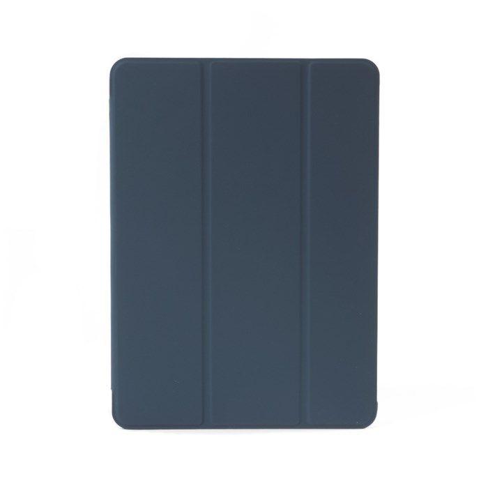 Pomologic Book Case fodral för iPad Air 2019 och iPad Pro 10,5 Grå-blå