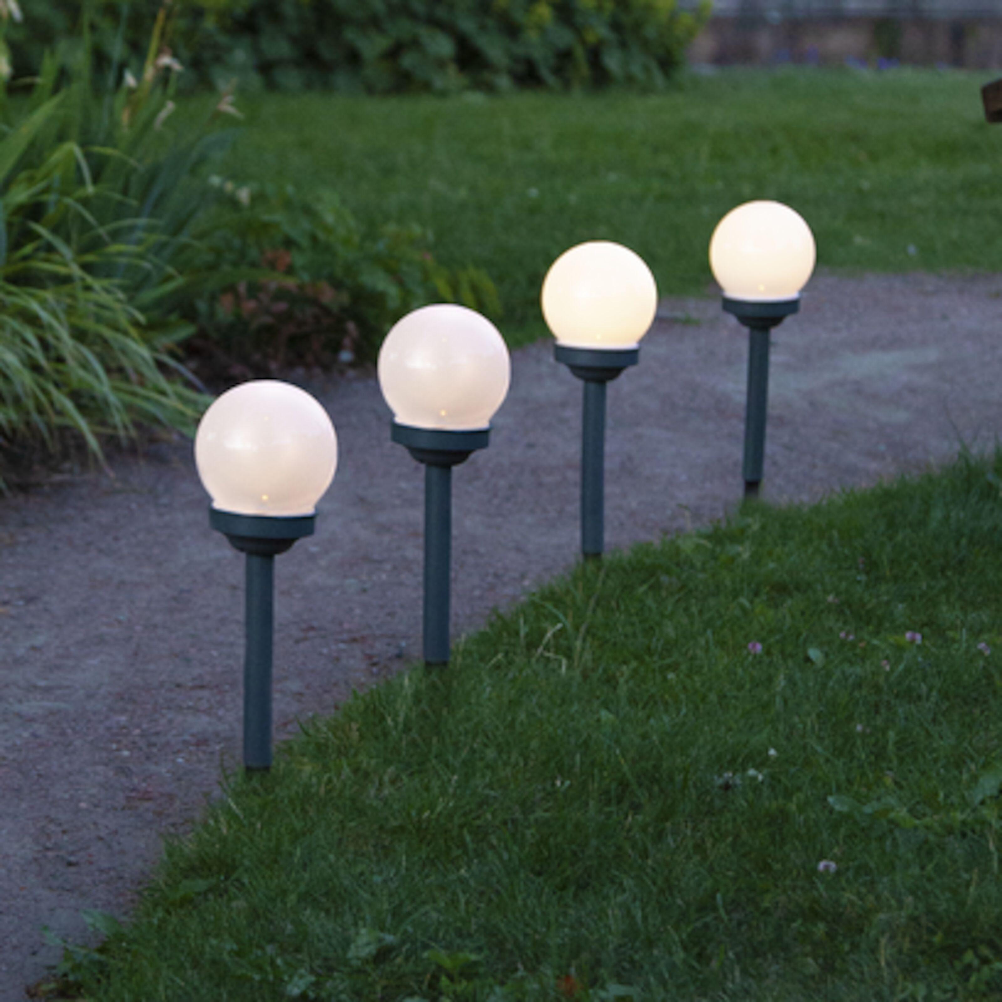 Star Trading Gulvlampe utendørs 184 cm Hagebelysning