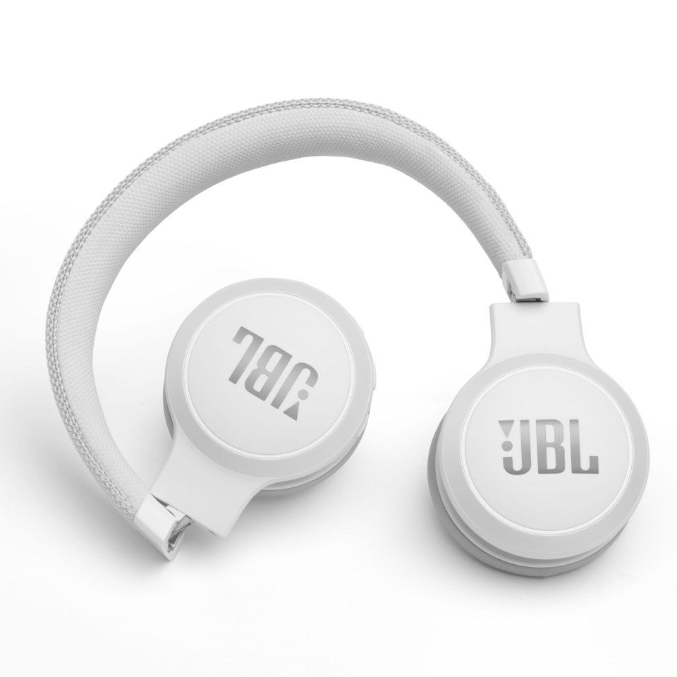 JBL Live 400BT Bluetooth-headset Vit