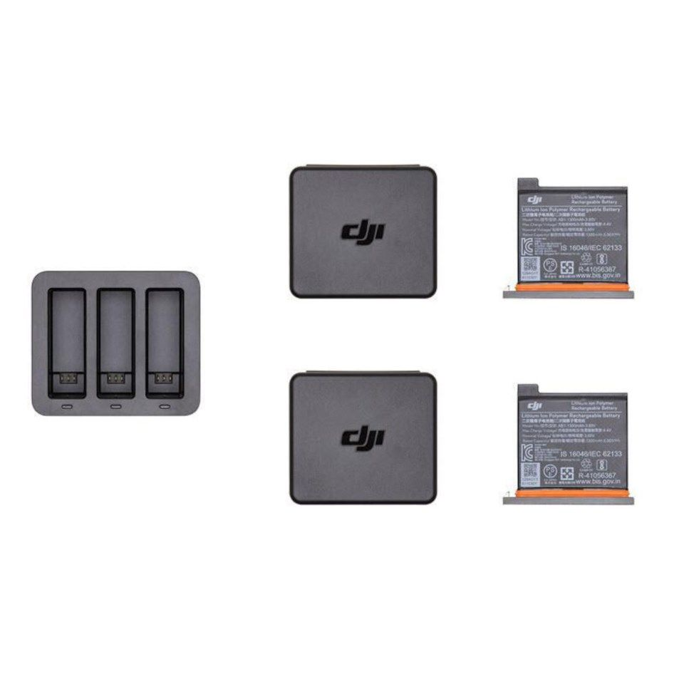 Dji Osmo Action Charging Kit Ladestasjon