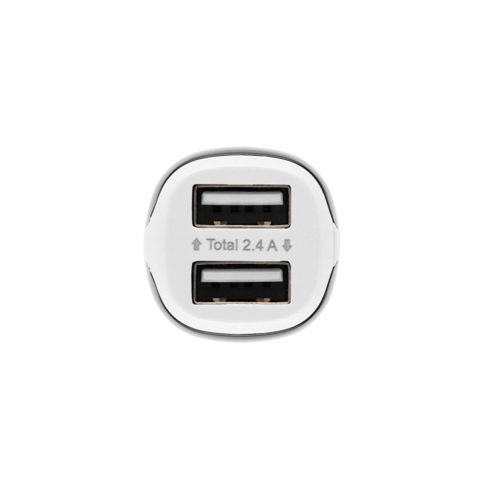 Linocell USB-billader med to USB-porter 2,4 A