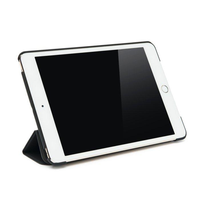 Linocell Trifold Fodral för iPad Mini 1, 2 och 3 Svart Svart