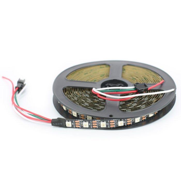 Luxorparts Adresserbar RGB LED-list 5 m