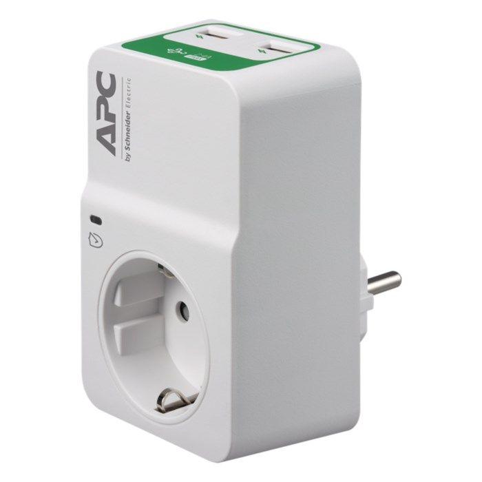APC Surgearrest Essential Överspänningsskydd med USB-uttag Jordat