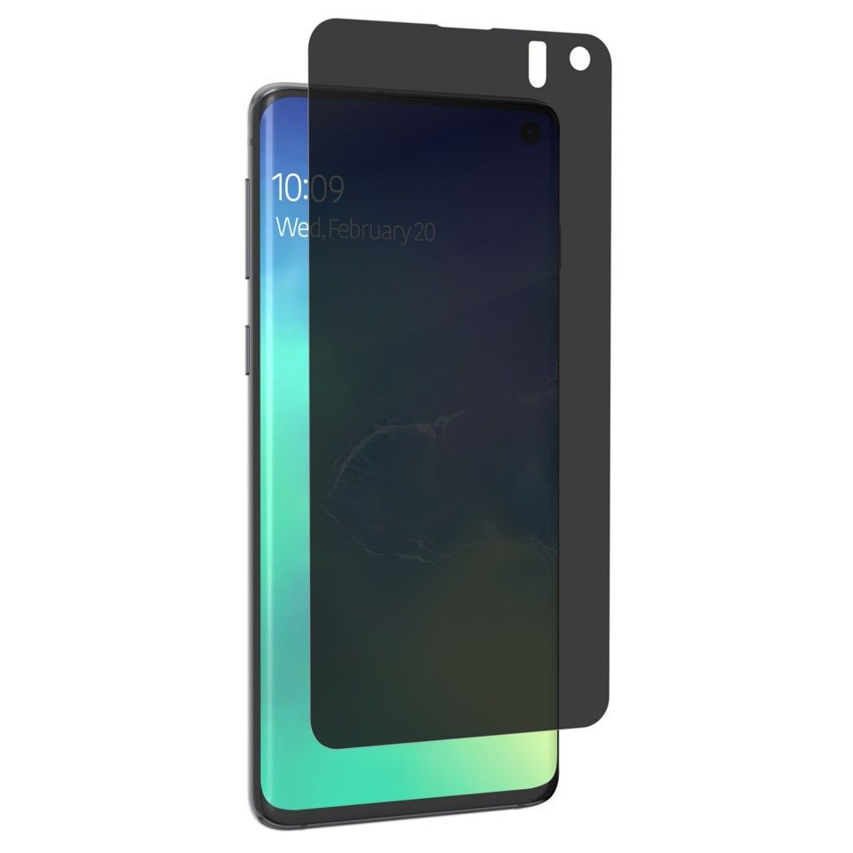 Invisible Shield Ultra Privacy Skjermbeskytter for Galaxy S10