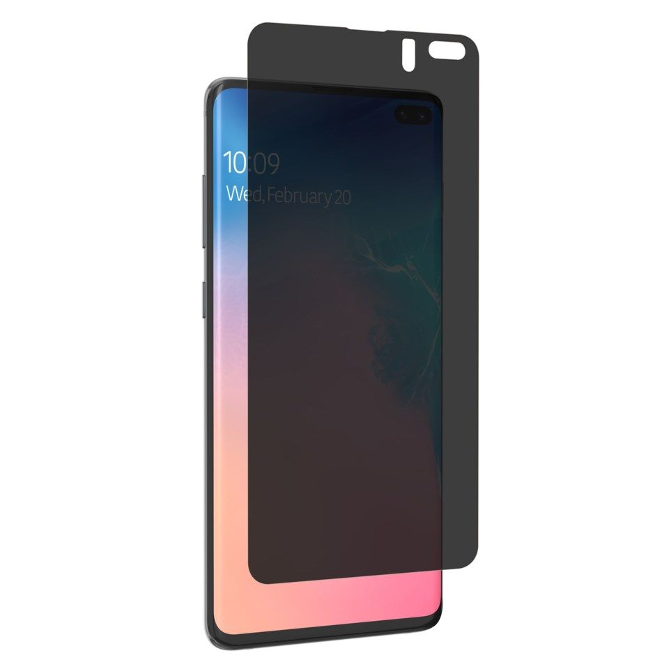 Invisible Shield Ultra Privacy Skjermbeskytter for Galaxy S10 Plus