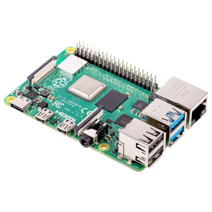 Raspberry Pi 4 Model B Enkortsdator 4 GB RAM