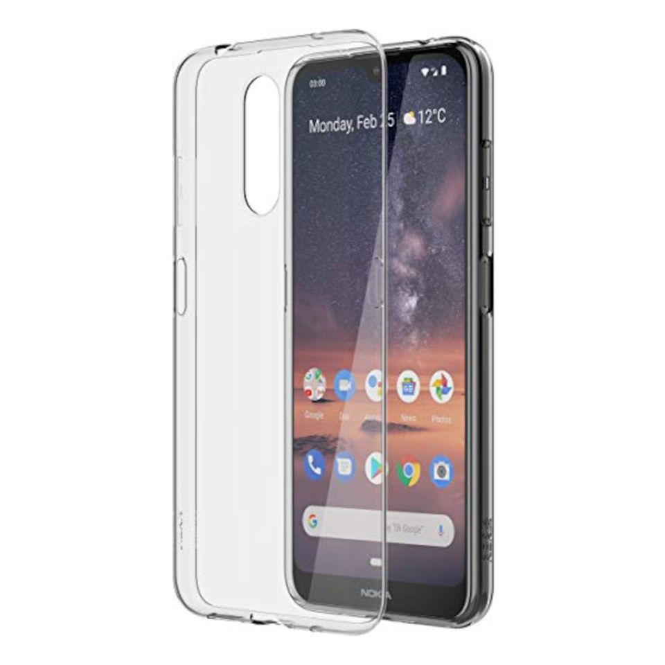 Nokia Clear Case Mobildeksel i TPU for Nokia 3.2