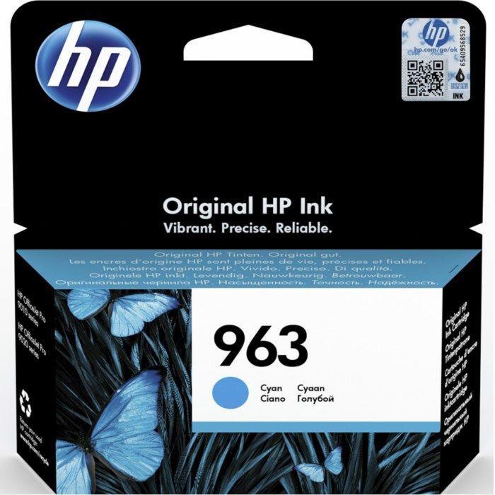HP 963 Bläckpatron Cyan