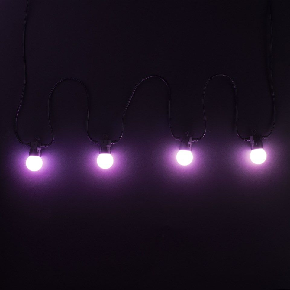 Twinkly Festoon Lights Smart RGB-lyslenke 20 LED