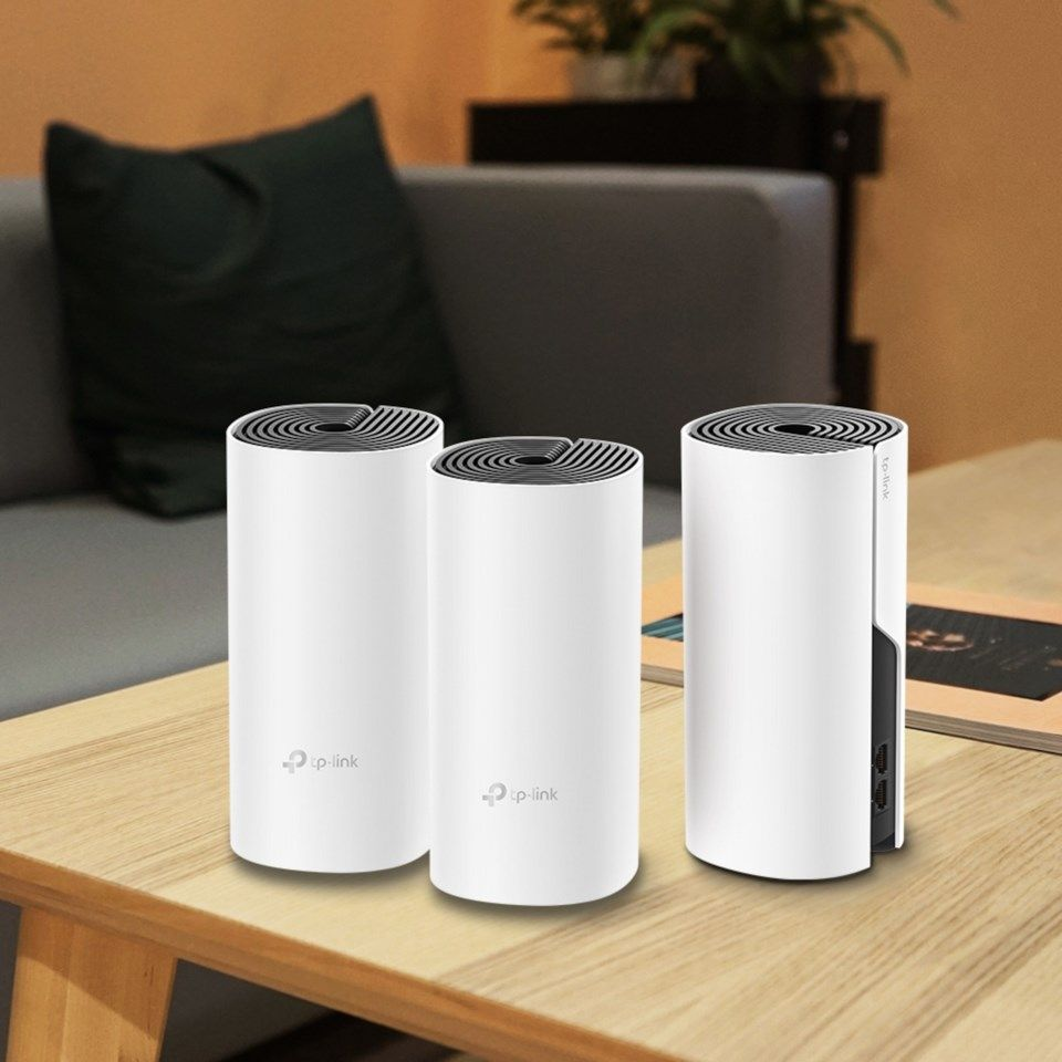TP-link Deco M4 Mesh-system AC1200 3-pack