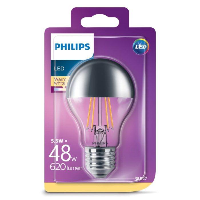 Philips LED-lampa Reflektor E27 620 lm